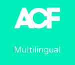 Advanced Custom Fields Multilingual
