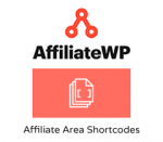 AffiliateWP Affiliate Area Shortcodes