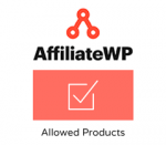 AffiliateWP Allowed Products