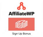 AffiliateWP Sign Up Bonus