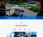 Course Builder WPLMS Theme