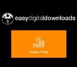 Easy Digital Downloads Custom Prices