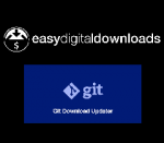 Easy Digital Downloads Git Download Updater