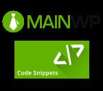 mainwp-code-snippets