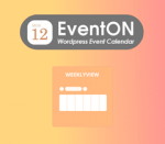 EventOn Weekly View