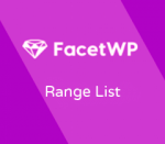 FacetWP Range List