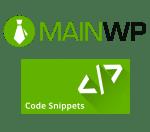 MainWP Code Snippets