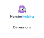 MonsterInsights Dimensions