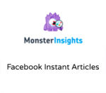 MonsterInsights Facebook Instant Articles