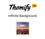 Themify Builder Infinite Background