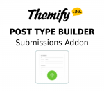 Themify Post Type Builder Submissions Addon