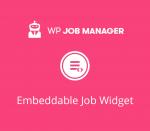 WP Job Manager Embeddable Job Widget