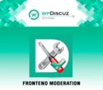 wpDiscuz Frontend Moderation